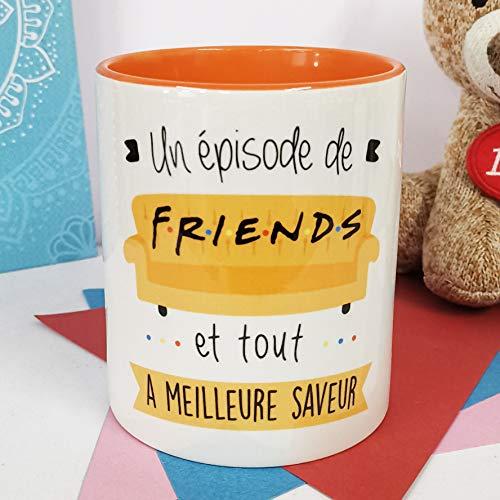 LA MENTE ES MARAVILLOSA NOS pensées - Tasse Phrases et Dessins Amusants (Un épisode de Friends et Tout a Meilleure saveur) Série Friends