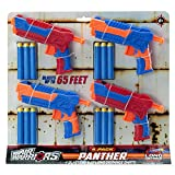 Air Warriors Panther 4-Pack Dart Blaster Set