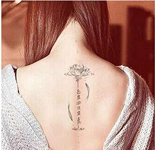 Transfiere Falsas Pegatinas de Tatuaje Falsas para Hombre a prueba de agua Hombre...