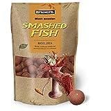 Radical Smashed Fish Ø 16mm Boilies-Cebo para Pesca de Carpas, Accesorios, Rojo, 16 mm
