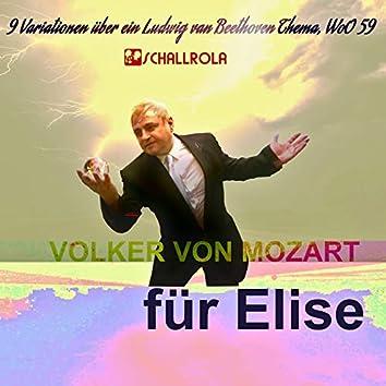 9 Variationen über ein Ludwig van Beethoven Thema, WoO 59