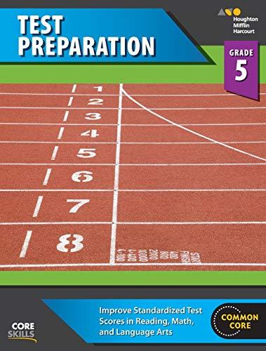 Steck-Vaughn Core Skills Test Preparation: Workbook Grade 5