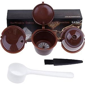 RECAPS Cápsula de café Recargable Compatible con Dolce Gusto ...