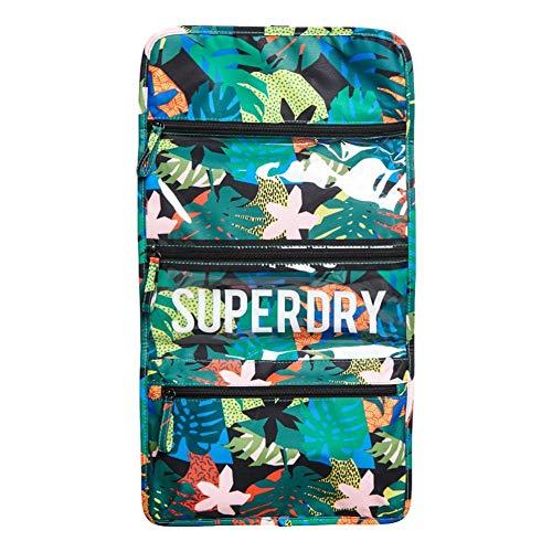 Superdry - Bolsa de lavado grande - Cut Out Tropical