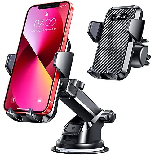 VANMASS Car Phone Holder,[Master Anti-Vibration]Phone Mount for Car,[Strong...