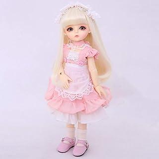 "1/6 SD BJD Dolls Full Set 26Cm 10"" Jointed Dolls DIY Toy Action Figure + Makeup + Wig + Shoes Girls Surprise Gift"