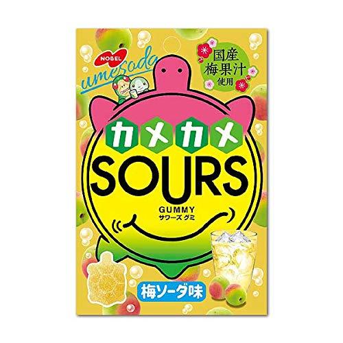 ノーベル製菓 SOURS サワーズ 梅ソーダ 6個入り1BOX