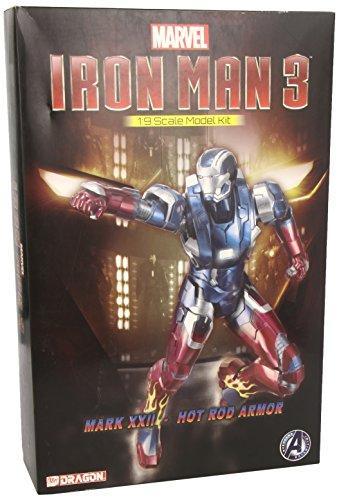 Dragon Action Heroes 1 : 9 Iron Man MK. 22 Hot Rod Kit modèle