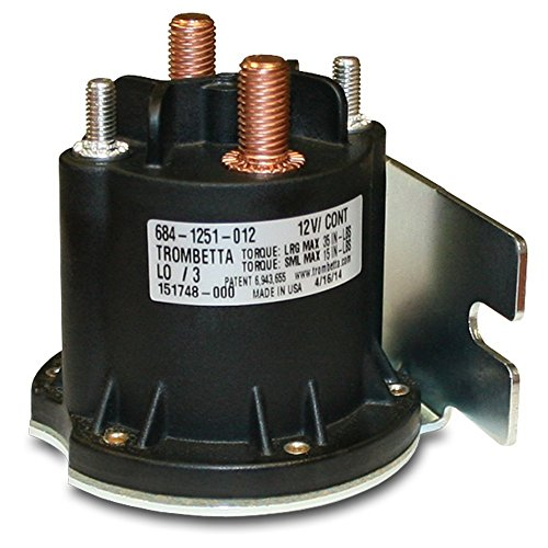 Trombetta 684-1251-012 12V Power Seal DC Contactor, 1 Pack
