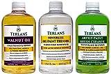 TERLANS Hilfsmittel für die Ölmalerei 3 x 500 ml/Terpentinersatz, komplett...