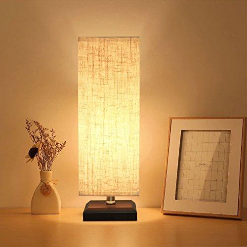 ZEFFO 間接照明 和風 インテリア テーブルライト ベッドサイドランプ LEDライト テーブルランプ ナイトライト 和風スタンド おしゃれ 授乳 リビング 寝室