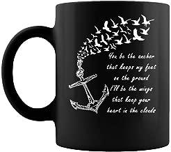 Mayday parade songs you be the anchor that keeps my feet on the ground shirt Mug Coffee Mug Gift Coffee Mug 11OZ Coffee Mug