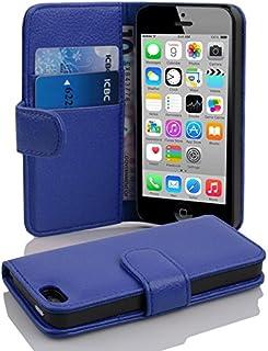 45dfb1da14 Cadorabo Apple iPhone 5C Etui de Protection Structure en Bleu CÉLESTE –  Coque Protective Complète avec
