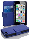 Cadorabo Apple iPhone 5C Etui de Protection Structure en Bleu CÉLESTE – Coque...