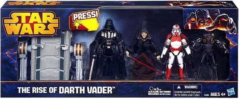 grandes precios de descuento Estrella Estrella Estrella Wars La montée de Darth Vader - Figura Set - Darth Vader, l'empereur, Shock Trooper, MedizinDroid, Table d'opération  nueva marca