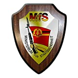 Wappenschild MfS Stasi DDR Ministerium für Staatssicherheit SSD Geheim #17095
