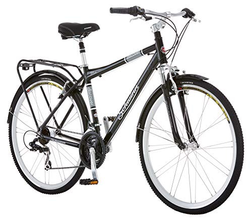 Schwinn Discover Hybrid Bike for Men and Women,...