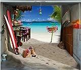 style-your-garage.com Garagentor Fotoplane Strand B 245 cm x H 210 cm