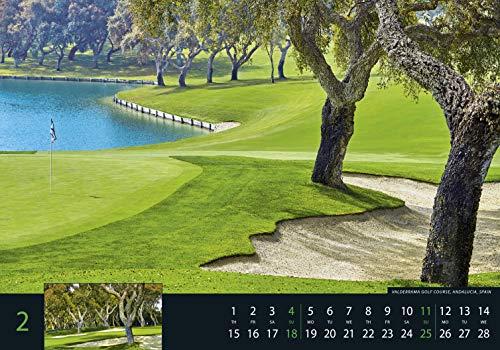 Golf 2018 – Sportkalender / Golfkalender international (49 x 34) - 14
