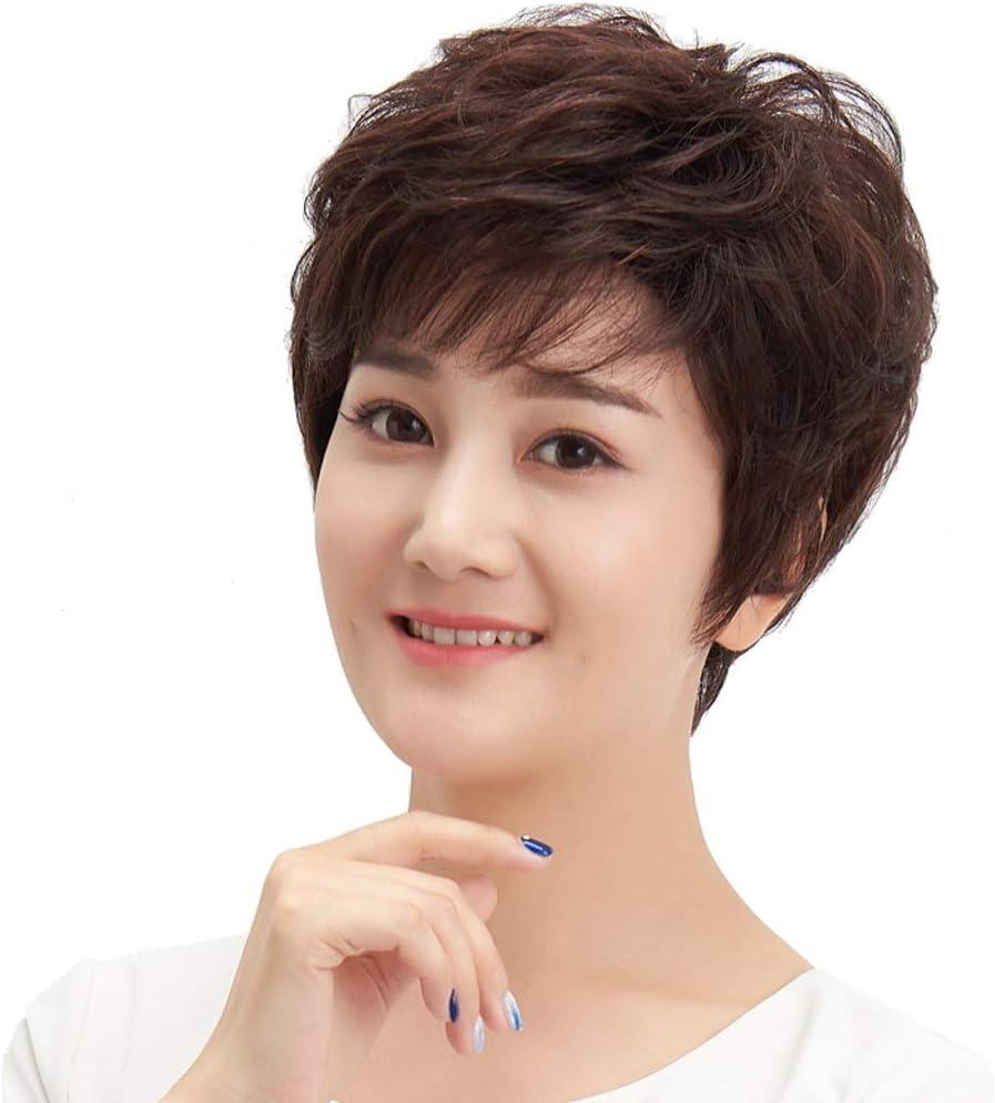 2021 model Wig Female Medium Ultra-Cheap Deals Length Realistic Japanese Cute Korean and Hara