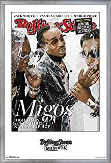 Trends International Rolling Stone Magazine - Migos 18 Wall Poster, 22.375