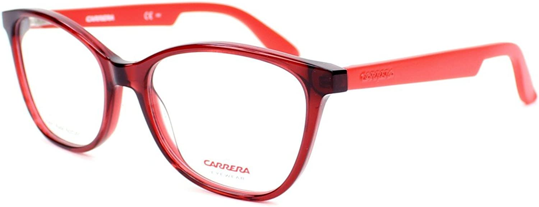 Carrera Carrera 5501 0BDA Burgundy Matte Red Eyeglasses