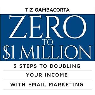 Zero to $1 Million audiobook cover art