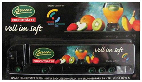 Bauer Fruchtsäfte Nr.02 - Voll im Saft, Buga Potsdam 2001 - MB Actros - Sattelzug