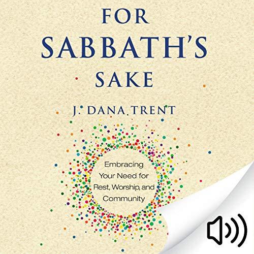 For Sabbath's Sake audiobook cover art