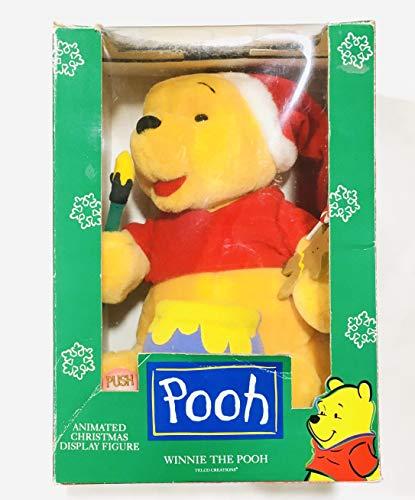 Telco 9' Winnie Pooh & Honey Pot Animated Motion-Ette Christmas Display Figure