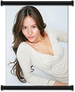 Jessica Michibata Sexy Hot Model Fabric Wall Scroll Poster (16