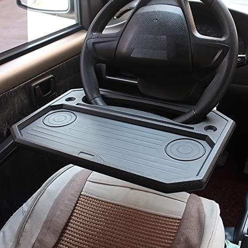 Mesa de coche,Bandeja del volante del automóvil,Soporte de la computadora del coche,portavasos de Coche, Escritorio multifunción para el volante del coche