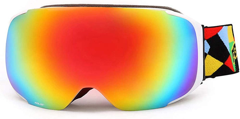 Skibrille Sportbrillen Brille Professionelle Skibrille Groer Kugelfrmiger Tag Und Nacht Allgemeine Skibrille - JBP5
