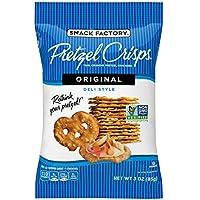 8-Pack Snack Factory Pretzel Crisps Original Flavor 3oz On-the-Go Bag