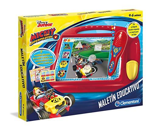 Clementoni- Mickey y los Superpilotos Juego Educativo para Niños, Multicolor (55223)