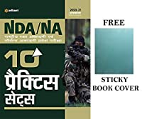 NDA/NA 10 Practice Sets with Free Sticky Book Cover in Hindi by Arihant Publication