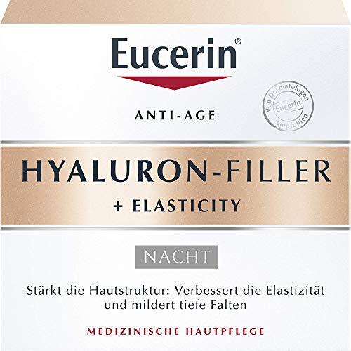 Eucerin Anti-Age Hyaluron-Filler Nachtpflege Creme, 50 ml Creme