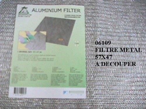 DIVERS MARQUES - FILTRE METAL UNIVERSEL DECOUPER 570X470 - 06109