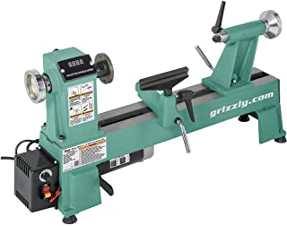 """Grizzly Industrial T25920 - 12"""" x 18"""" Variable-Speed Benchtop Wood Lathe"""