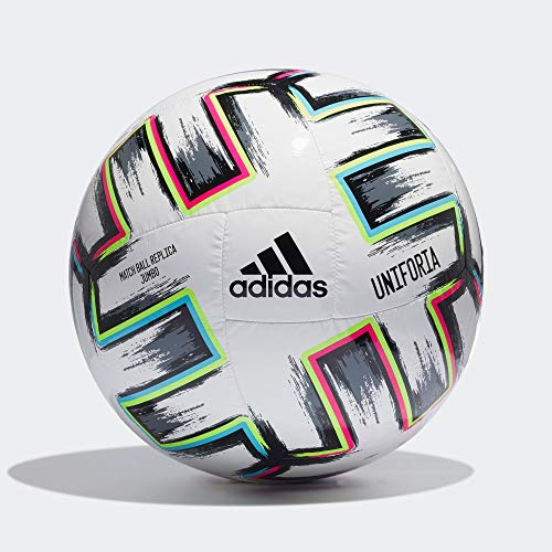 adidas UNIFORIA Jumbo Balón Fútbol Hombre, Blanco (Blanco/Negro/VERSEN/CIABRI), Talla Única