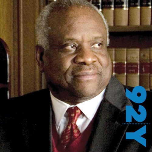 Clarence Thomas audiobook cover art