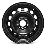 Road Ready Car Wheel For 2008-2011 BMW 323i 2008-2012 328i 16 Inch 5 Lug Black Steel Rim Fits R16 Tire - Exact OEM Replacement - Full-Size Spare