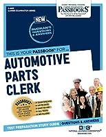 Automotive Parts Clerk