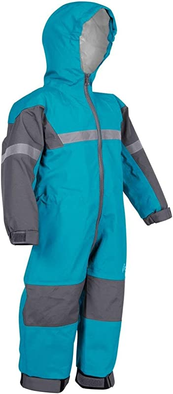 OAKI Rain Suit Kids Toddler Snowsuit One Piece Rain Jacket Pant For Girls Boys