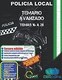 Temario Avanzado Policía Local de Andalucía: Temas 16 a 28