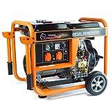 Generador de corriente KW5500 monofásico 5000 W