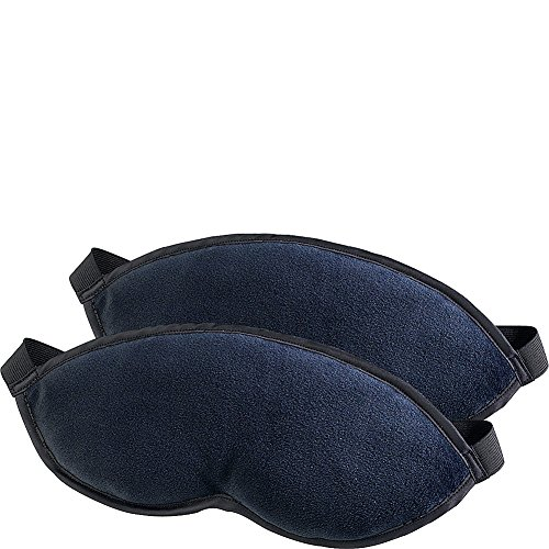 Lewis N. Clark Comfort Eye Mask + Sleep Aid to Block Light for Travel Hotel, Airport, Insomnia +...
