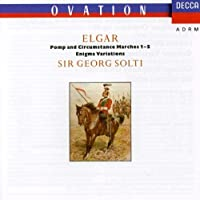 Elgar: Pomp and Circumstance Marches 1-5; Enigma Variations by SOLTI / CHICAGO SYM ORCH (1990-10-26)