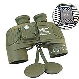 USCAMEL Jumelles Adultes Militaires HD 10X50 Multi-Fonctions avec Télémétrie et Boussole,...