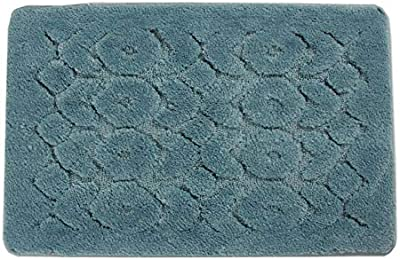 Household Bag pad Leiwenkai Absorbent Mats Non-Slip Bath Mats Doormat Solid Color Soft and Comfortable Bedrooms Machine Washable (Color : DA8834, Size : 40 * 60)